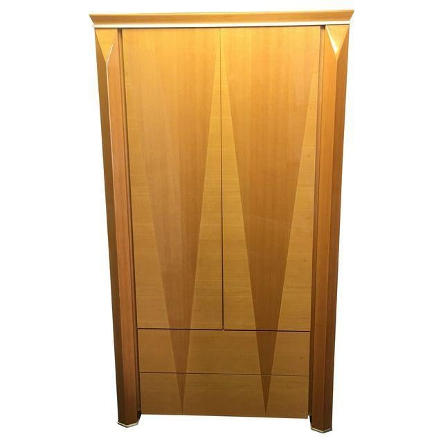 Giorgio Collection Parquet Armoire For Sale