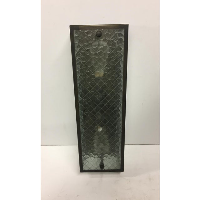 Industrial Caged Sconce For Sale - Image 3 of 4