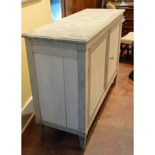 Early 19th Century Italian Painted Buffet For Sale In New Orleans - Image 6 of 10