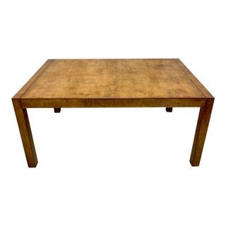Mid-Century Modern Burlwood J. Widdicomb Dining Table For Sale