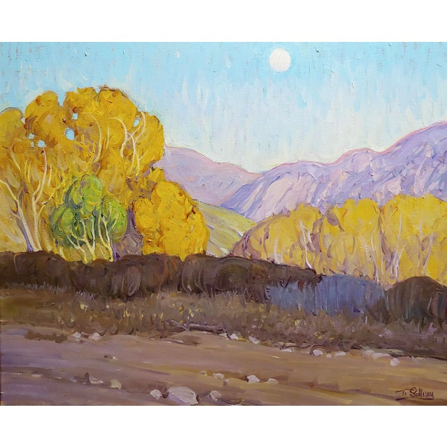 Country Tim Solliday -Beautiful Fall California Landscape - Oil Painting For Sale - Image 3 of 10
