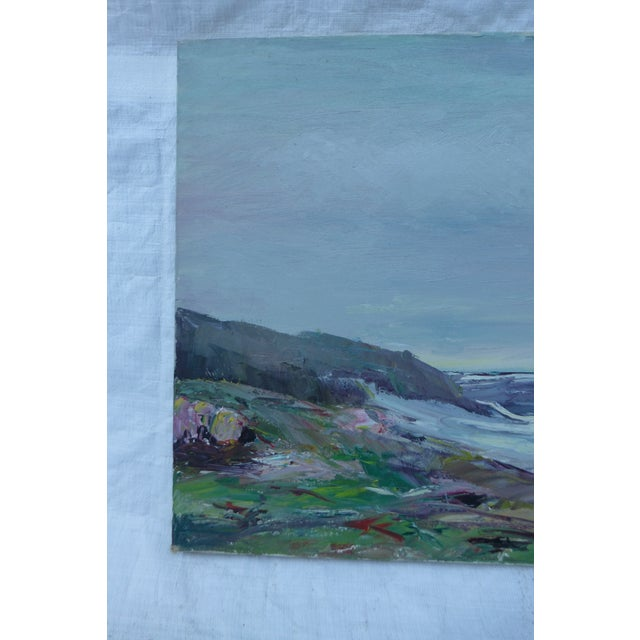 Abstract Beach Painting by H.L. Musgrave - Image 3 of 7