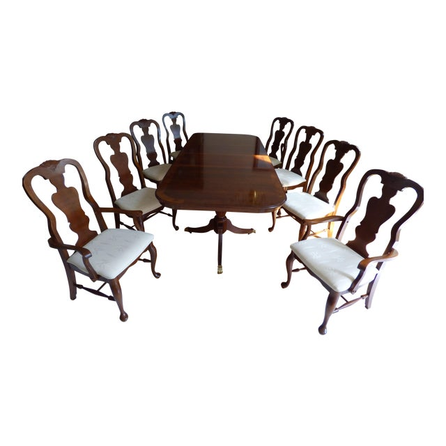 Queen Anne Dining Room Set - Image 1 of 7