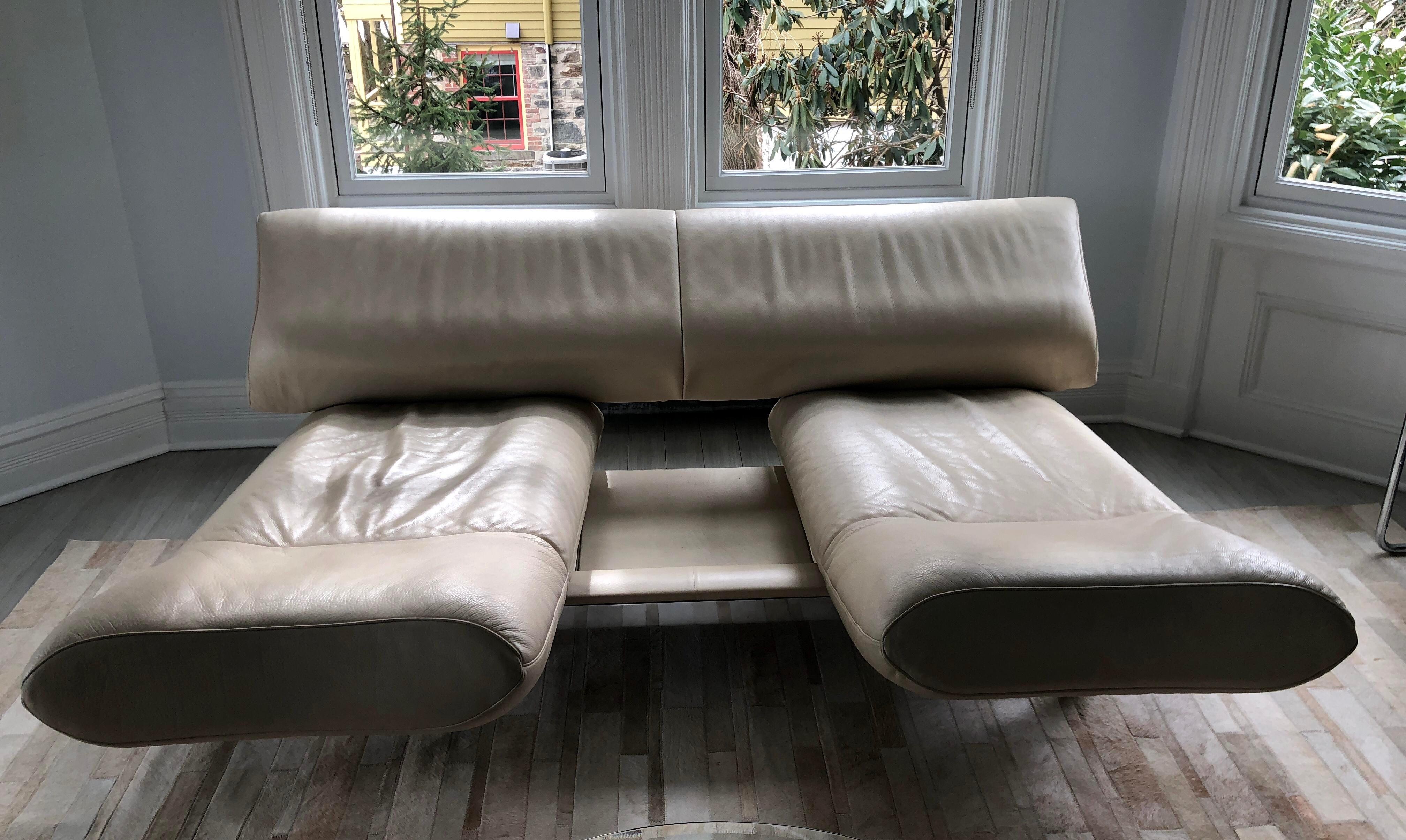De Sede Vintage Leather Sofa   Image 3 Of 11