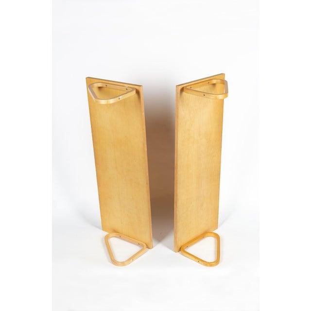 "Pair of Book or Wall Shelfs model 112A Design ALVAR AALTO, Produced by ARTEK, Finland ""Designed by Alvar Aalto in 1936,..."