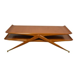 Floating Italian Coffee Table For Sale