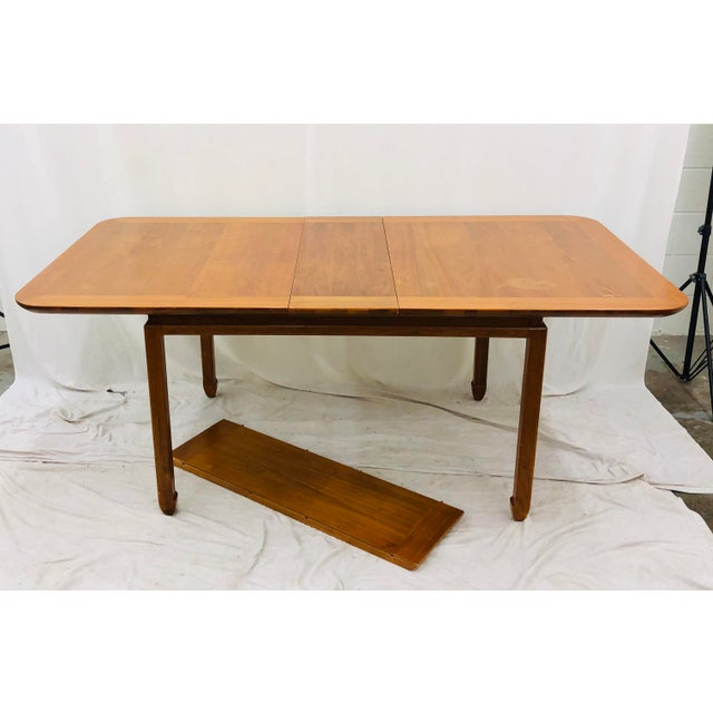 Lane Furniture Vintage Mid Century Modern Dining Table For Sale - Image 4 of 12