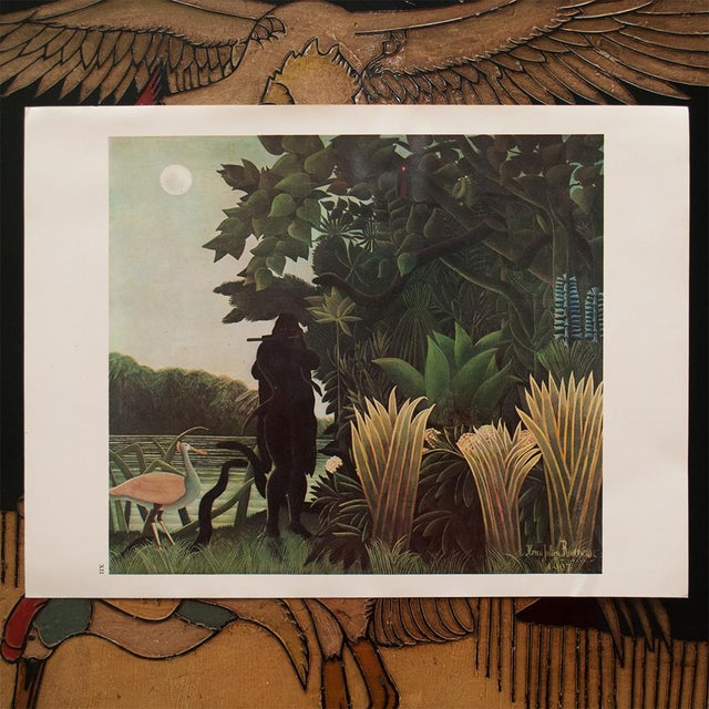 """1966 Henri Rousseau, """"The Waterfall"""" Photogravure From Milan For Sale In Dallas - Image 6 of 11"""