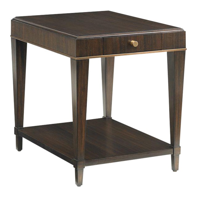 Capetown Square Side Table from Kenneth Ludwig Chicago For Sale