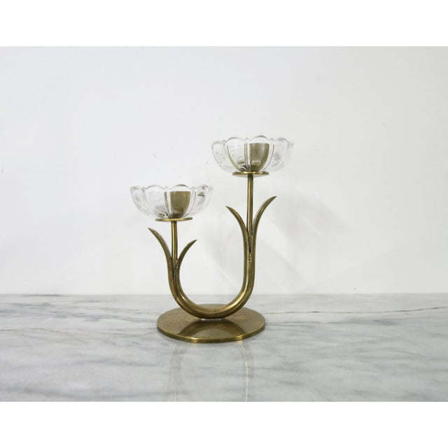Mid 20th Century Ystad-Metall Candle Holder For Sale - Image 11 of 11