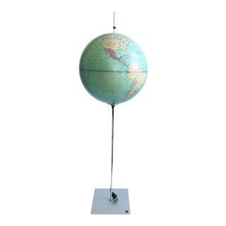 Absolut Radius Globe Earth Desk Light For Sale