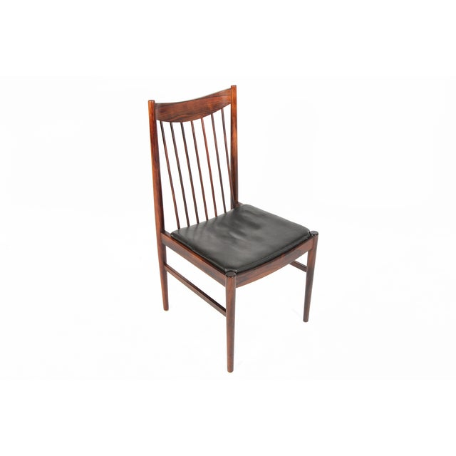Arne Vodder Rosewood Dining Chairs - Set of 10 - Image 4 of 10