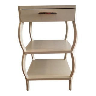 Sarah 3-Shelf Side Table with Drawer