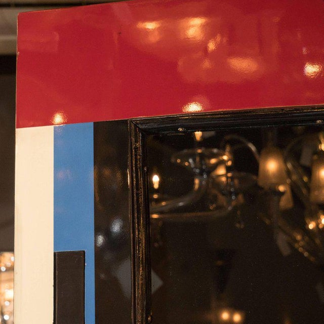 Art Deco Bakelite and Black Lacquer Doors or Theatre Screens by Robert Eberson For Sale In New York - Image 6 of 11