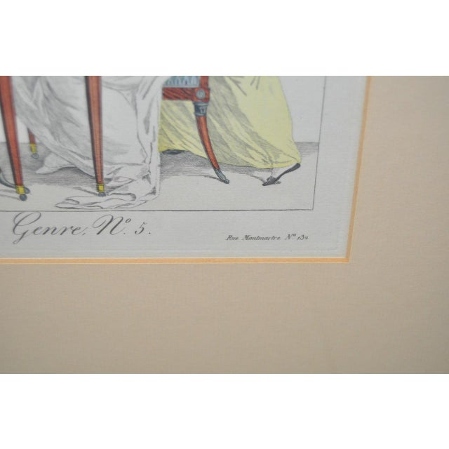 French Hand Colored Engravings - A Pair - Image 6 of 8