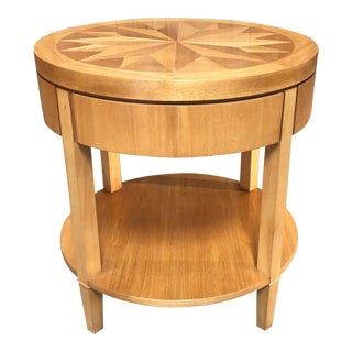 20th Century Modern Baker Furniture End Table For Sale