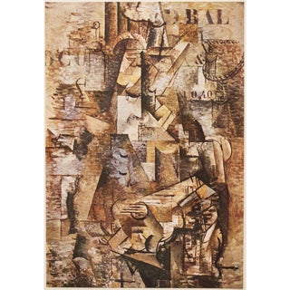 "1947 Georges Braque, Original Period ""Der Portugiese"" Lithograph For Sale"