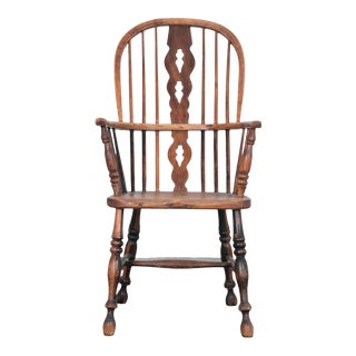 19th Century English Windsor Chair For Sale