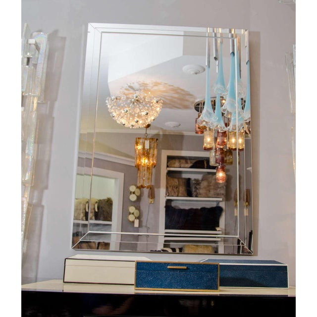 Venfield Custom Tiered Stacked Mirror For Sale - Image 4 of 5