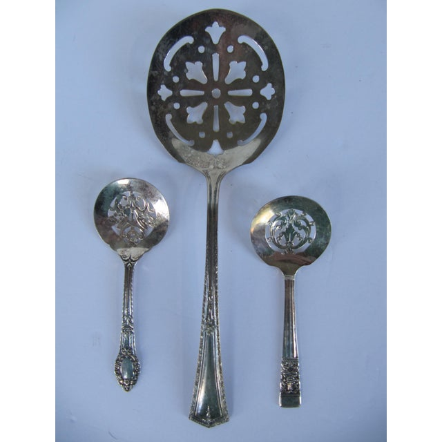 Silverplate Serving Spoons-3 Pieces - Image 2 of 5