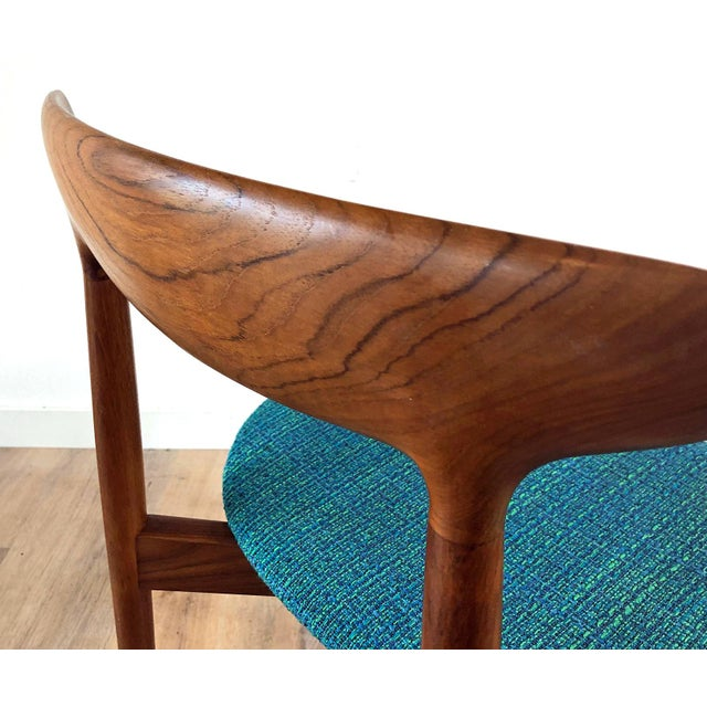 Wood 1960s Harry Østergaard for Randers Møbelfabrik Dining Chairs - Set of 8 For Sale - Image 7 of 13