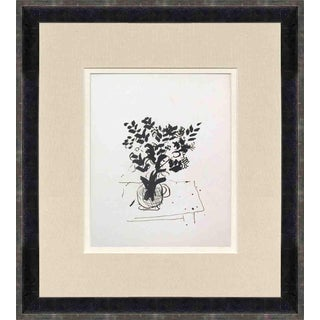 Marc Chagall Derriere Le Miroir, No.198 Cover-1972 Framed Lithograph