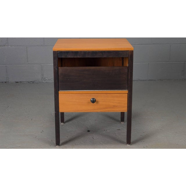 Small Steelframe Stereo Cabinet Side Table by George Nelson for Herman Miller For Sale - Image 9 of 9