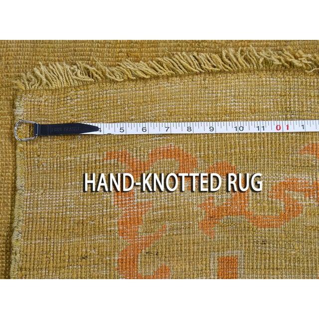 "Antique Turkish Oushak Oriental Rug - 10'2"" X 13'6"" For Sale - Image 12 of 13"