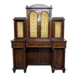Image of Antique Regency Rosewood Secretary Desk For Sale