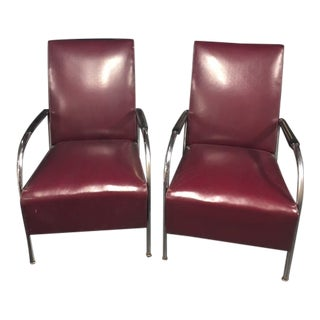 1930s Vintage Wolfgang Hoffman Chairs - a Pair For Sale