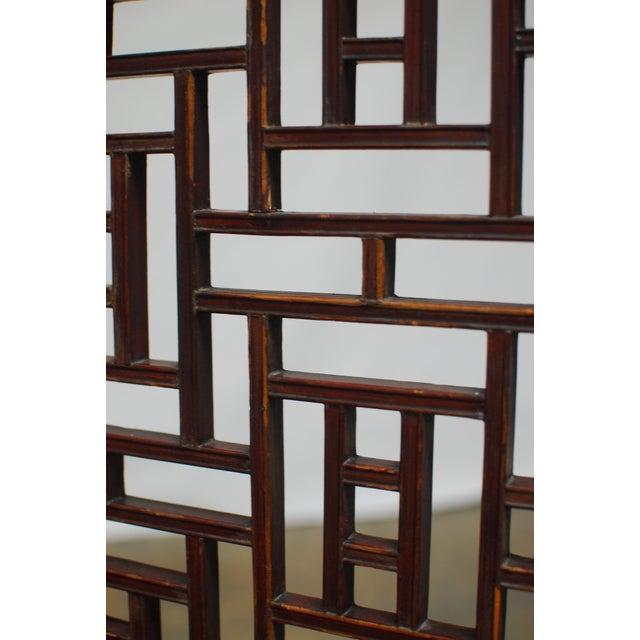 19th Century Lattice Panel Screen For Sale In San Francisco - Image 6 of 9