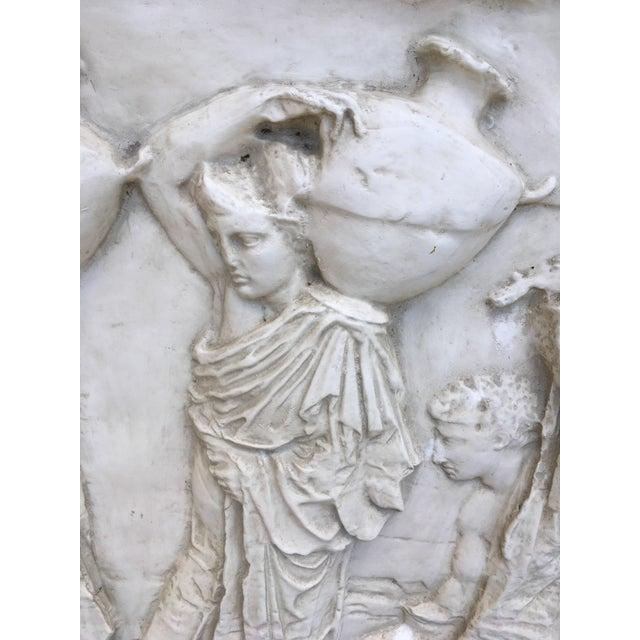 Modern Figural Fiberglass Wall Sculpture/Art For Sale - Image 4 of 11