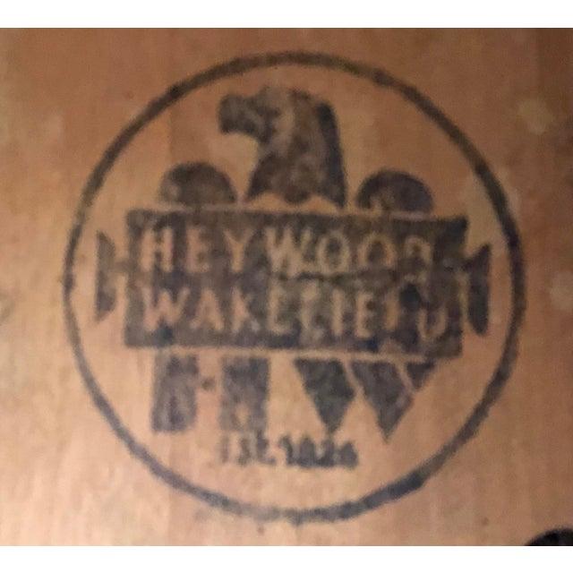 Heywood-Wakefield Drop Leaf Dining Table - Image 8 of 11