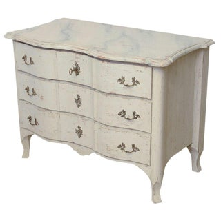 18th Century Antique Swedish Period Baroque Chest