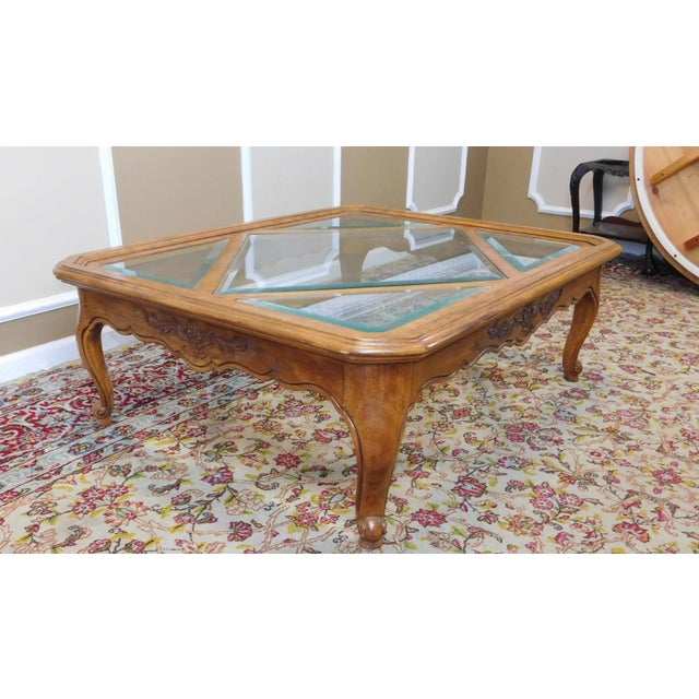 Drexel Heritage Cabernet Collection Coffee Table For Sale In New York - Image 6 of 9