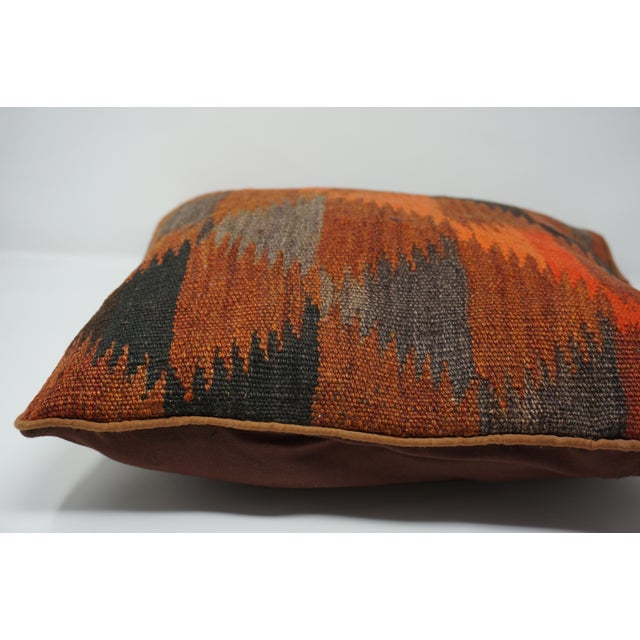 Islamic Vintage Turkish Kilim Pillow Cover For Sale - Image 3 of 6