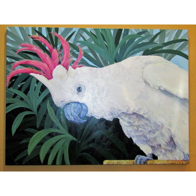 Large Original Cockatoo Painting - Image 2 of 5