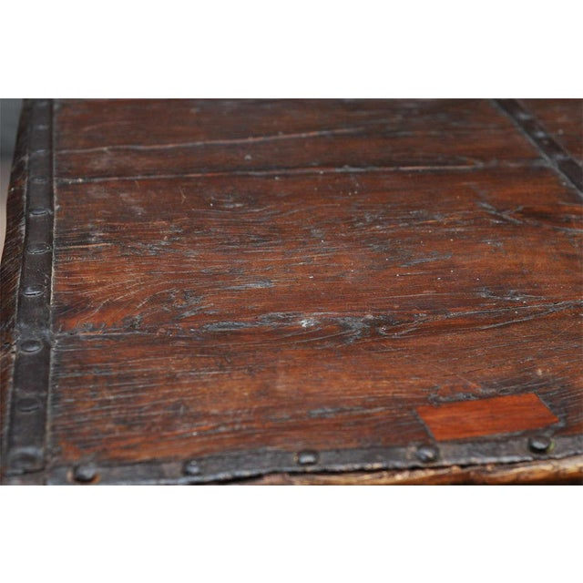 Indian Wood and Iron Table - Image 10 of 10