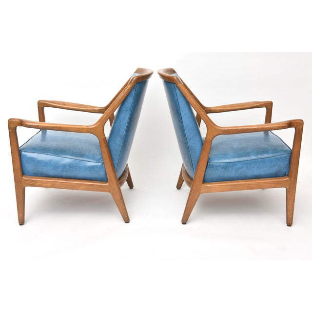 Pair of Italian Modern Walnut Armchairs, Carlo de Carli For Sale - Image 9 of 11