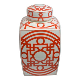 Bungalow 5 Jasper Jar - Orange For Sale
