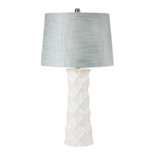 Santina White Ceramic Lamp