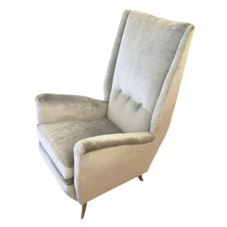 ISA Armchair Attributed to Gio Ponti For Sale