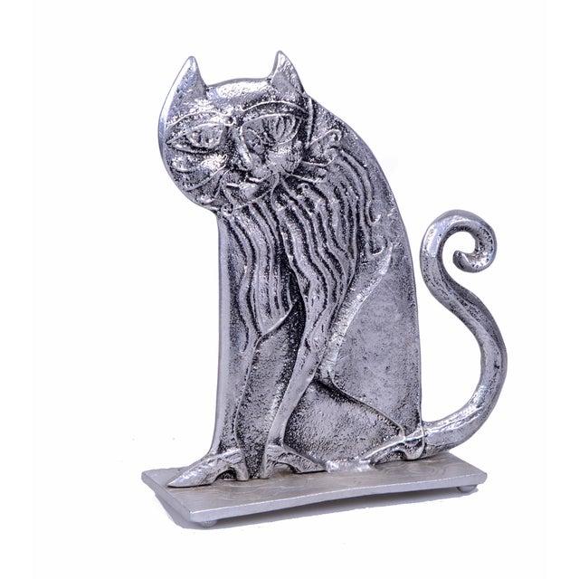 Don Drumm Cast Aluminum Cat For Sale - Image 7 of 7