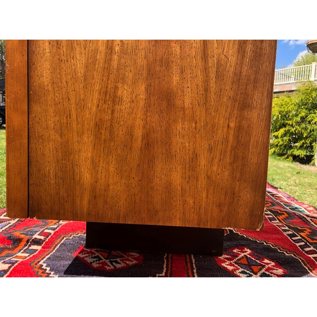 1970s Mid Century Lane 'Tower Collection' Rosewood Credenza For Sale - Image 12 of 13