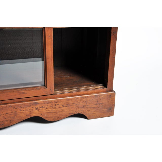 1950s British Colonial Bookcase For Sale - Image 12 of 13
