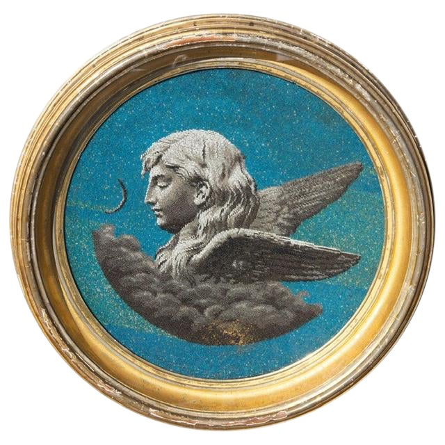 19th Century Classical Allegory of Evening For Sale