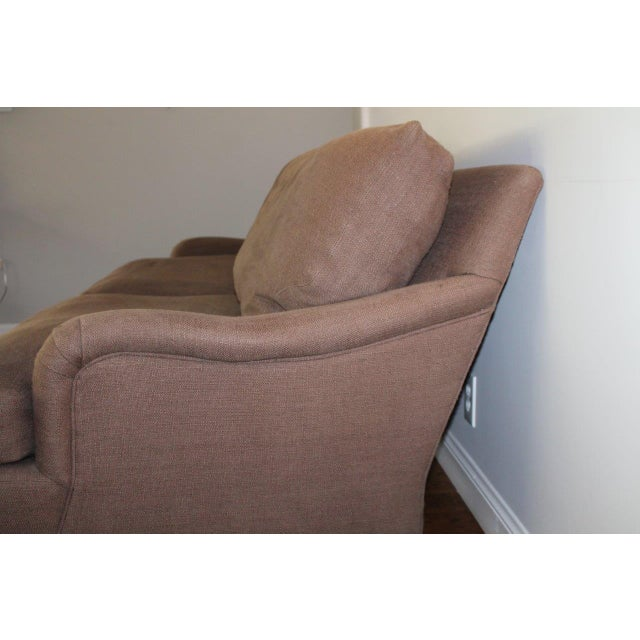 Contemporary Crate & Barrel Essex Sofa For Sale - Image 3 of 5