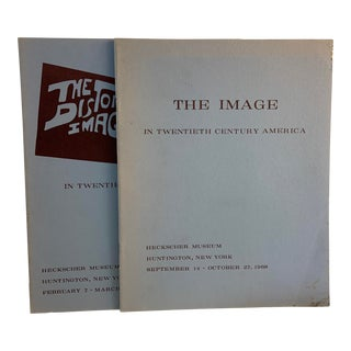 1968 The Image and The Distorted Image in 20th Century American Art Books -Set of 2 For Sale