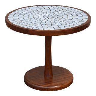 1960s Vintage Gordon & Jane Martz for Marshall Studios Tile Top Walnut Table For Sale