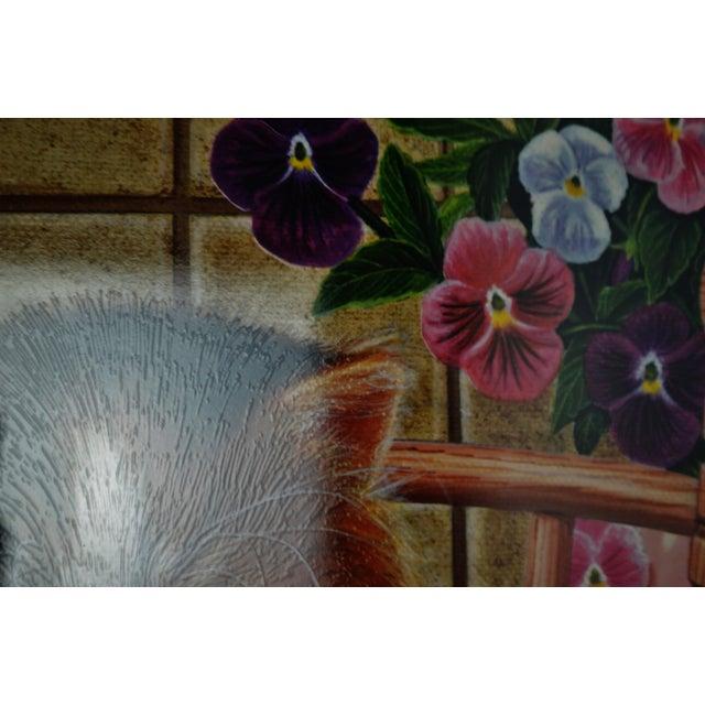 Vintage Signed Barbara Higgins Bond Sunday Brunch Limited Edition Textured Lithograph For Sale - Image 10 of 13